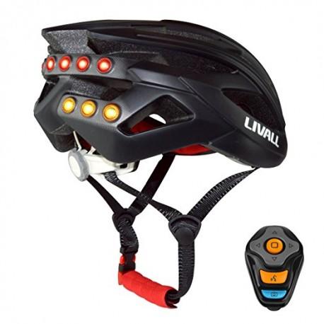 Kask Livall Mfi Urban BH 120 z powiadomieniem SOS i Bluetooth 4.0 + pilot MTB / Road