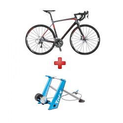 PROMOCJA! Rower Scott Solace 15 Disc + trenażer Tacx Blue Matic